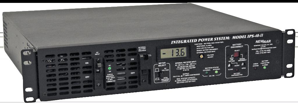 12v 24v Or 48v Dc 11 40 Amps Built In Battery Back Up